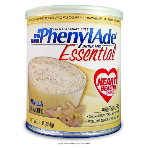PhenylAde Essential Drink Mix ( PHENYLADE ORANGE CREAM 1LB )( 1 Case ...